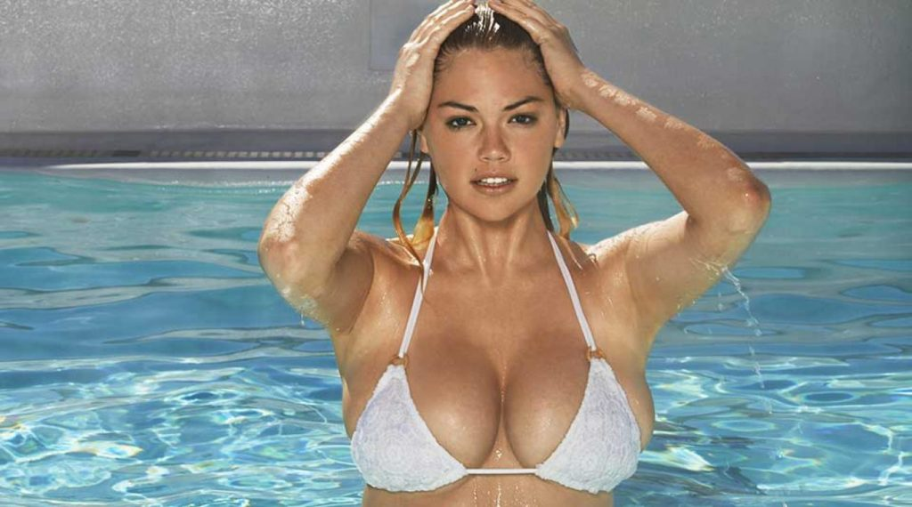Kate Upton Hot Bikini At Pool 1024x570 - Kate Upton Net Worth, Pics, Wallpapers, Career and Biography