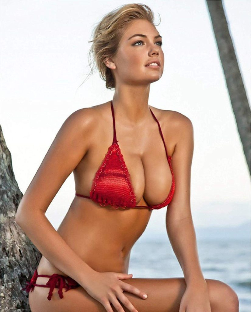 Kate Upton Hot Red Bikini Pics 825x1024 - Kate Upton Net Worth, Pics, Wallpapers, Career and Biography