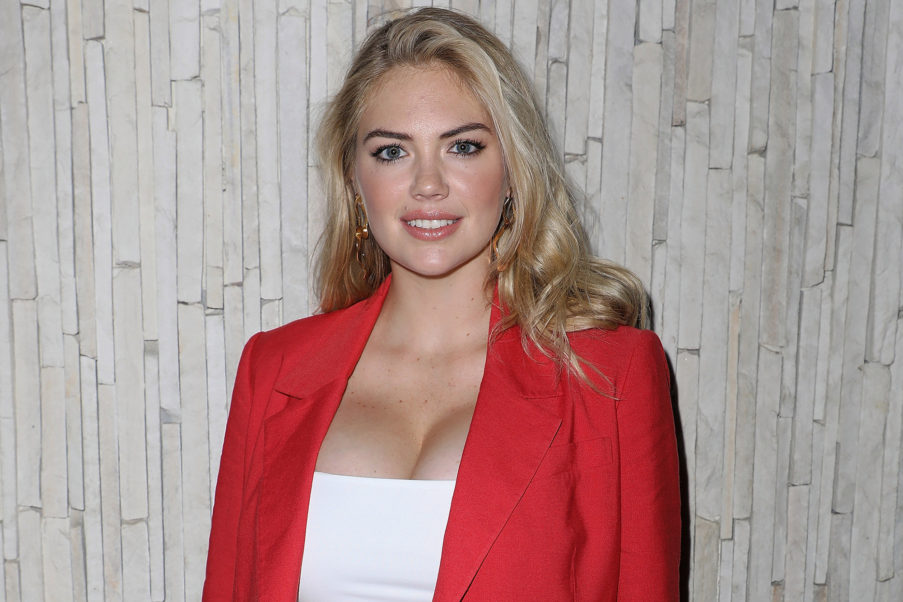 Kate Upton Hot Red Jacket