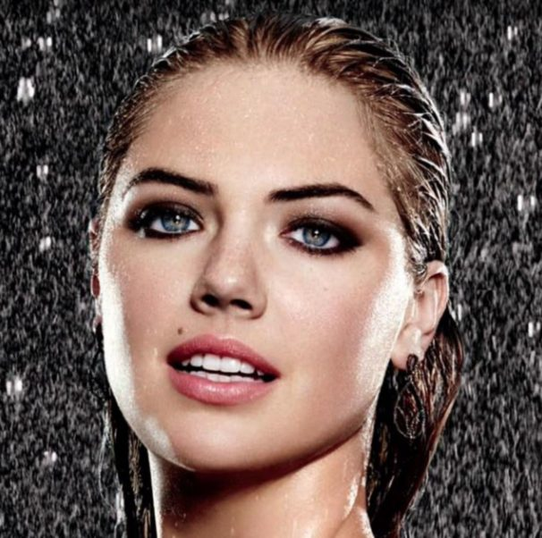 Kate Upton Smoky Eyes Pics