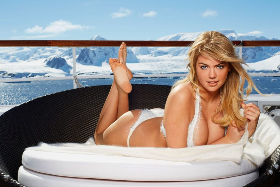 Kate Upton Swimsuit Calendar Pics