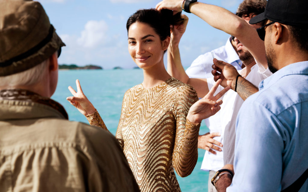 Lily Aldridge Hairdressing 1024x640 - Lily Aldridge Hairdressing