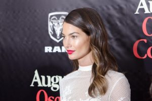 Lily Aldridge Hot Gala Image 300x199 - Lily Aldridge Red Hot Lips