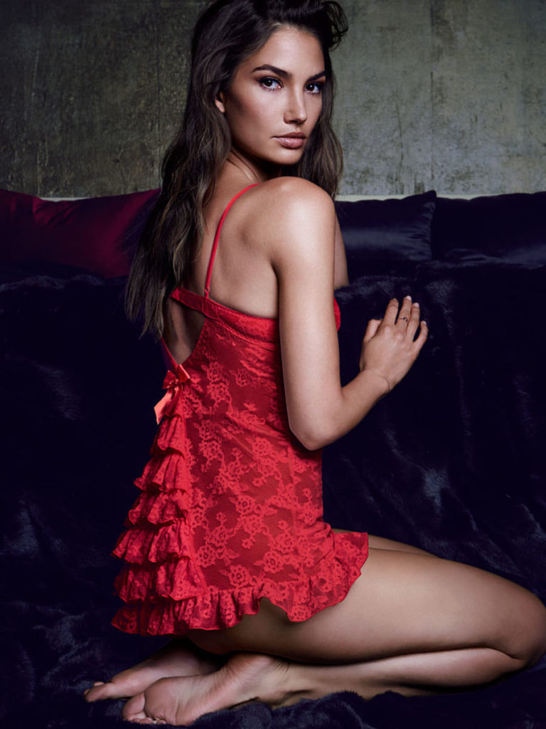 Lily Aldridge Hot Lingerie 768x1024 - Lily Aldridge Net Worth, Pics, Wallpapers, Career and Biography