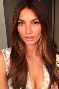 Lily Aldridge Hot Revealing Blouse 200x300 - Lily Aldridge Red Hot Lips