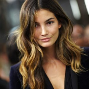 Lily Aldridge Nice Hair 300x300 - Lily Aldridge Hot Blue Bikini