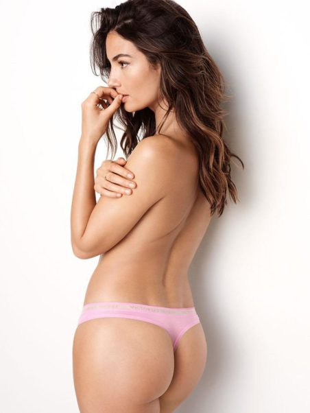 Lily Aldridge Only Panty