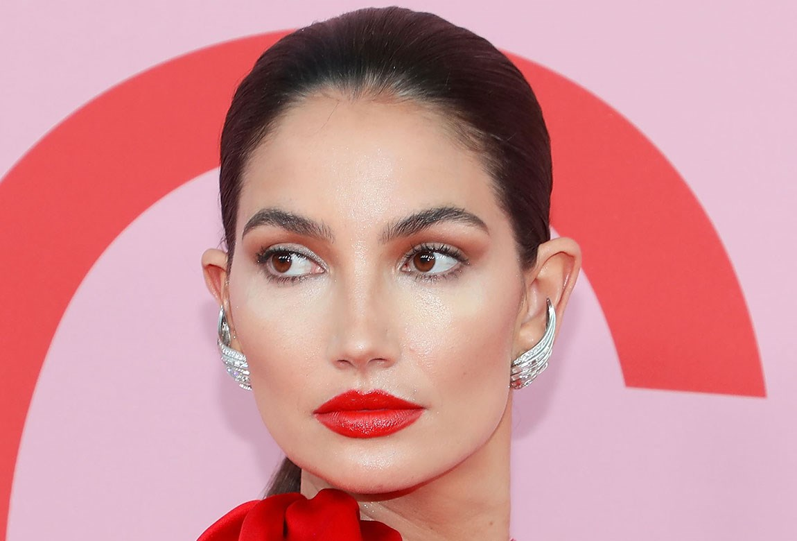 Lily Aldridge Red Hot Lips - Lily Aldridge Red Hot Lips