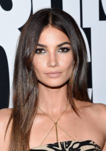 Lily Aldridge Wonderful Eyes 211x300 - Lily Aldridge Hot Blue Bikini