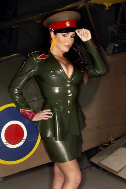 Lucy Pinder Captain Costume Pics