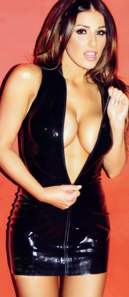 Lucy Pinder Deep Revealing Night Dress 444x1024 - Lucy Pinder Net Worth, Pics, Wallpapers, Career and Biography