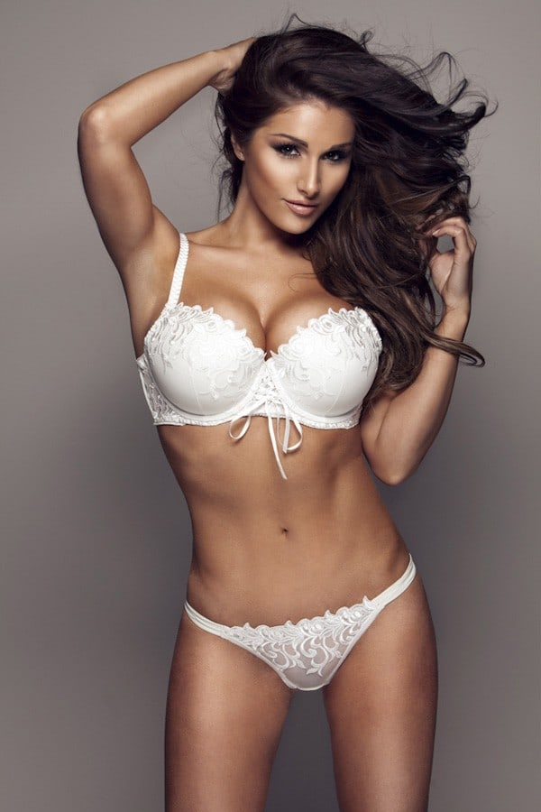 Lucy Pinder Hot Bra Pose - Lucy Pinder Hot Bra Pose