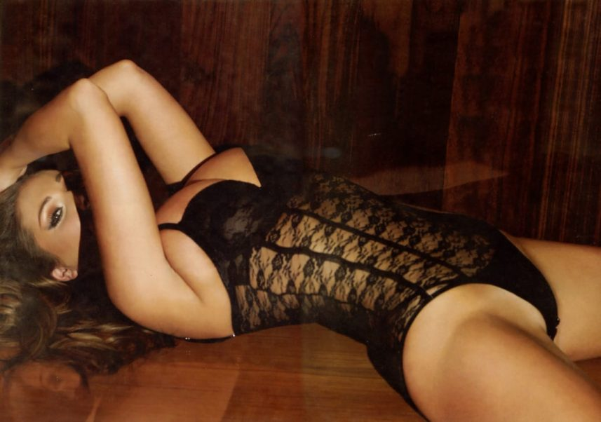 Lucy Pinder Hot Lingerie Posing