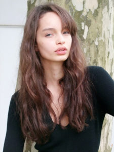 Luma Grothe Face Images 225x300 - Luma Grothe Hot Revealing Red Dress