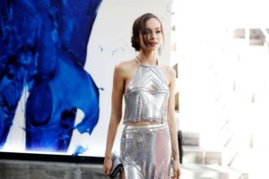 Luma Grothe Gala Dress 300x200 - Luma Grothe Hot Revealing Red Dress