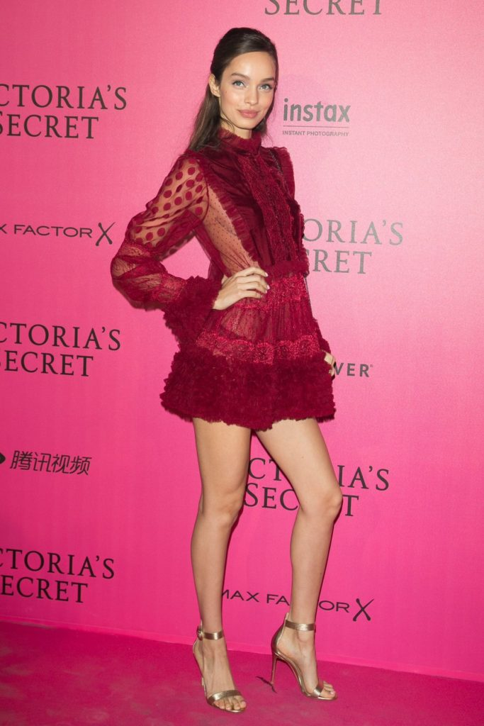 Luma Grothe Hot Red Dress 683x1024 - Luma Grothe Net Worth, Pics, Wallpapers, Career and Biography