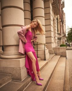Martha Hunt Pink Dress 239x300 - Martha Hunt Face Pics