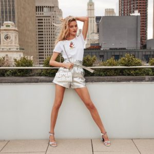 Martha Hunt Roof Posing 300x300 - Martha Hunt Face Pics