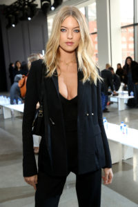 Martha Hunt Super Hot Revealing Blouse 200x300 - Martha Hunt Face Pics