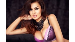 Natalia Siwiec Hot Purple Bra 300x169 - Natalia Siwiec Hot Lingerie Photos