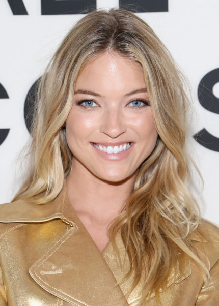 Nice Smiling Martha Hunt