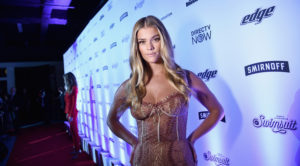 Nina Agdal Gala Dress Pics 300x166 - Nina Agdal Sweet Model Pics