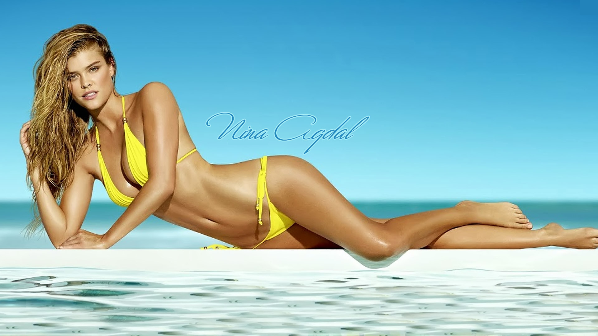 Nina Agdal Hot Bikini Wallpaper - Nina Agdal Hot Bikini Wallpaper