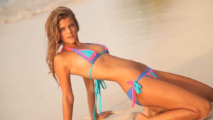 Nina Agdal Tropic Bikini Wallpaper 300x169 - Nina Agdal Sweet Model Pics