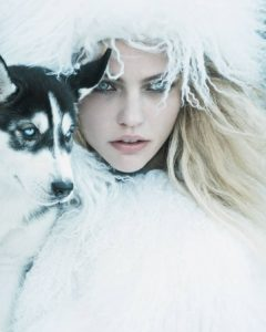 Sasha Pivovarova Beautiful Blue Eyes 240x300 - Sasha Pivovarova Photo