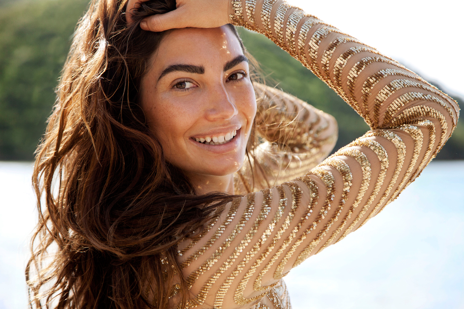 Top Modeling Lily Aldridge By The Sea - Lily Aldridge Net Worth, Pics, Wallpapers, Career and Biography