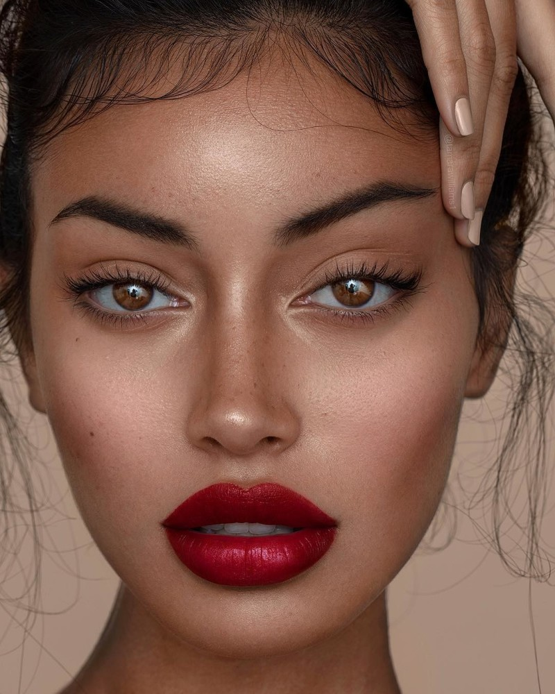 Cindy Kimberly Hot Red Lips - Cindy Kimberly Net Worth, Pics, Wallpapers, Career and Biography