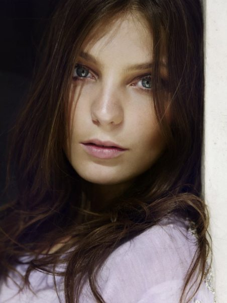 Daria Werbowy Blue Eyes