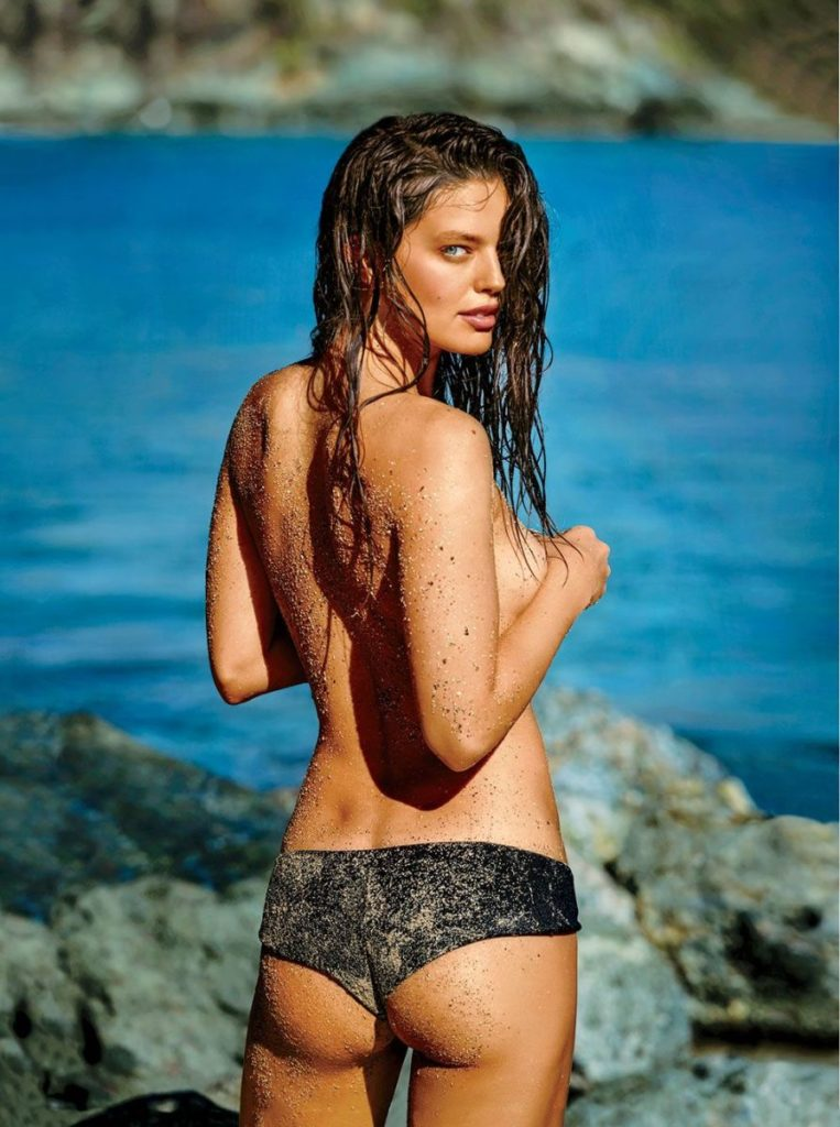 Emily DiDonato Only Panty 763x1024 - Emily DiDonato Net Worth, Pics, Wallpapers, Career and Biography