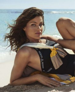 Hot Brunette Model Isabeli Fontana 245x300 - Isabeli Fontana Smoky Eyes
