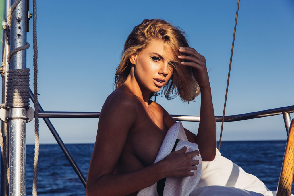 Hot Charlotte McKinney On The Yacht 1024x682 - Charlotte McKinney Net Worth, Pics, Wallpapers, Career and Biography
