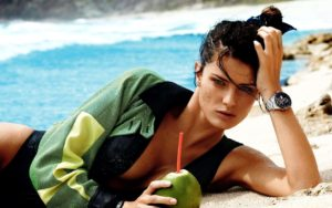 Isabeli Fontana By The Sea 300x188 - Isabeli Fontana Smoky Eyes