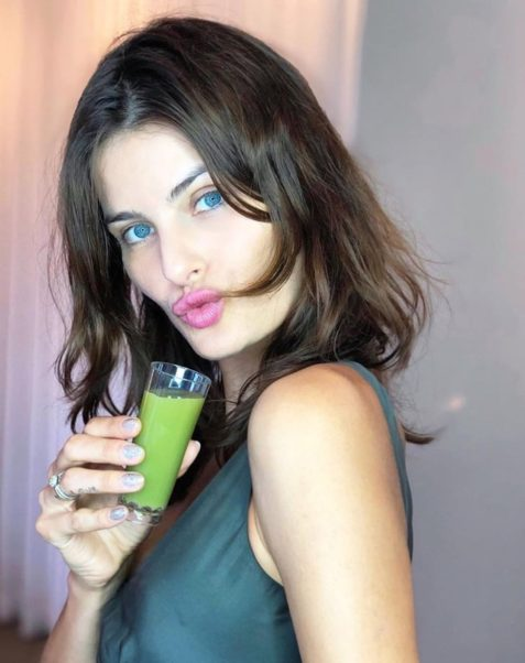 Isabeli Fontana Hot Lips