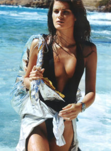Isabeli Fontana Hot Swimsuit Pictures 221x300 - Hot Brunette Model Isabeli Fontana