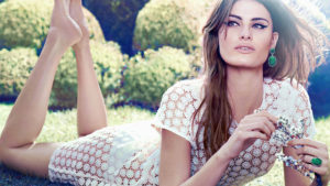 Isabeli Fontana Outdoors 300x169 - Hot Brunette Model Isabeli Fontana