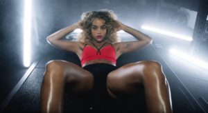 Jasmine Sanders Workout Wallpaper 300x164 - Jasmine Sanders Curly Hair