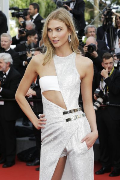 Karlie Kloss Hot White Dress