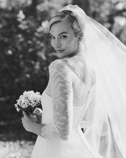 Karlie Kloss Wedding Dress Images
