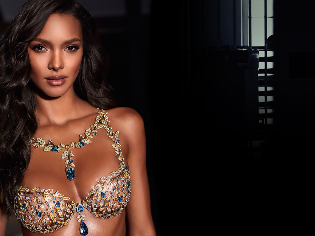 Lais Ribeiro Victorias Secret Bra 1024x768 - Lais Ribeiro Net Worth, Pics, Wallpapers, Career and Biography