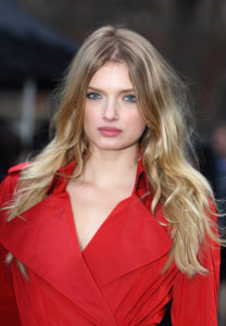 Lily Donaldson Hot Red Jacket 208x300 - Cool Lily Donaldson