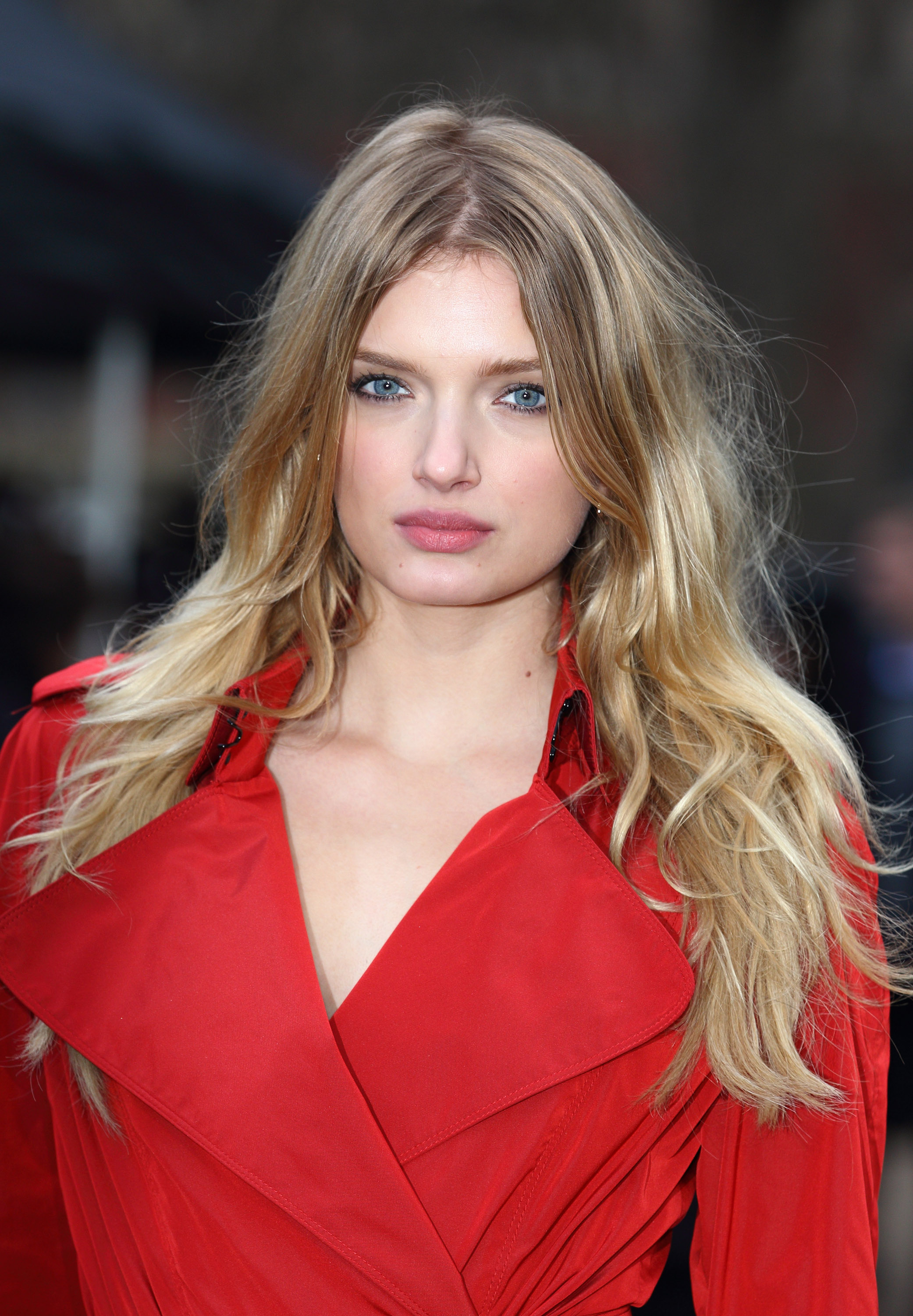 Lily Donaldson Hot Red Jacket - Lily Donaldson Hot Red Jacket