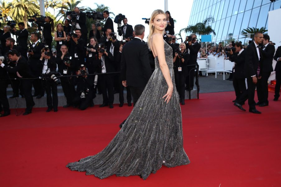Lily Donaldson Red Carpet Pics