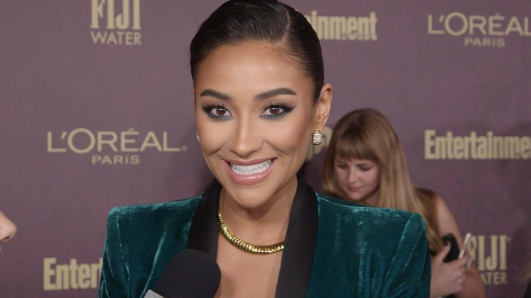 Nice Smiling Shay Mitchell
