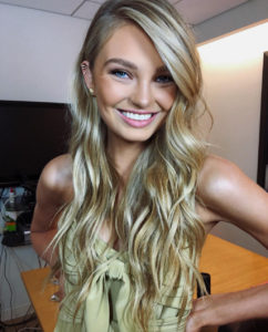 Romee Strijd Smile 242x300 - Romee Strijd Top Model Pics
