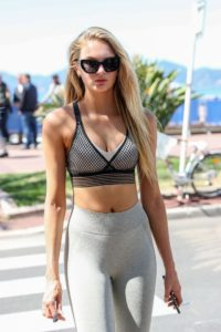 Romee Strijd Sports Bra Outdoors 200x300 - Romee Strijd Top Model Pics