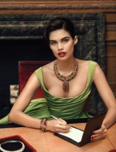 Sara Sampaio Green Dress 228x300 - Sara Sampaio Victoria's Secret Fashion Show